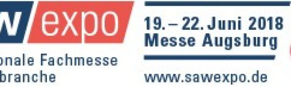 saw expo – Internationale Fachmesse der Sägebranche | 19.-22. Juni 2018